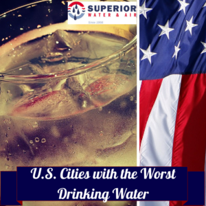 U.S. Cities with the Worst Drinking